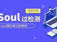 soul模拟器注册过检测免验证soul引流教程
